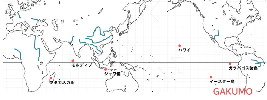 覚えておくべき島地図